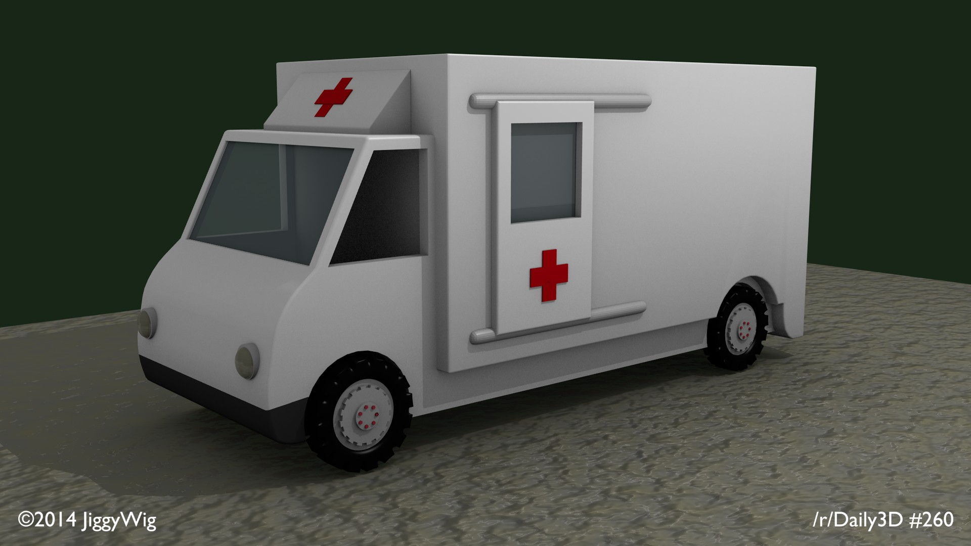 #260 - Modelled on Toy Ambulance.