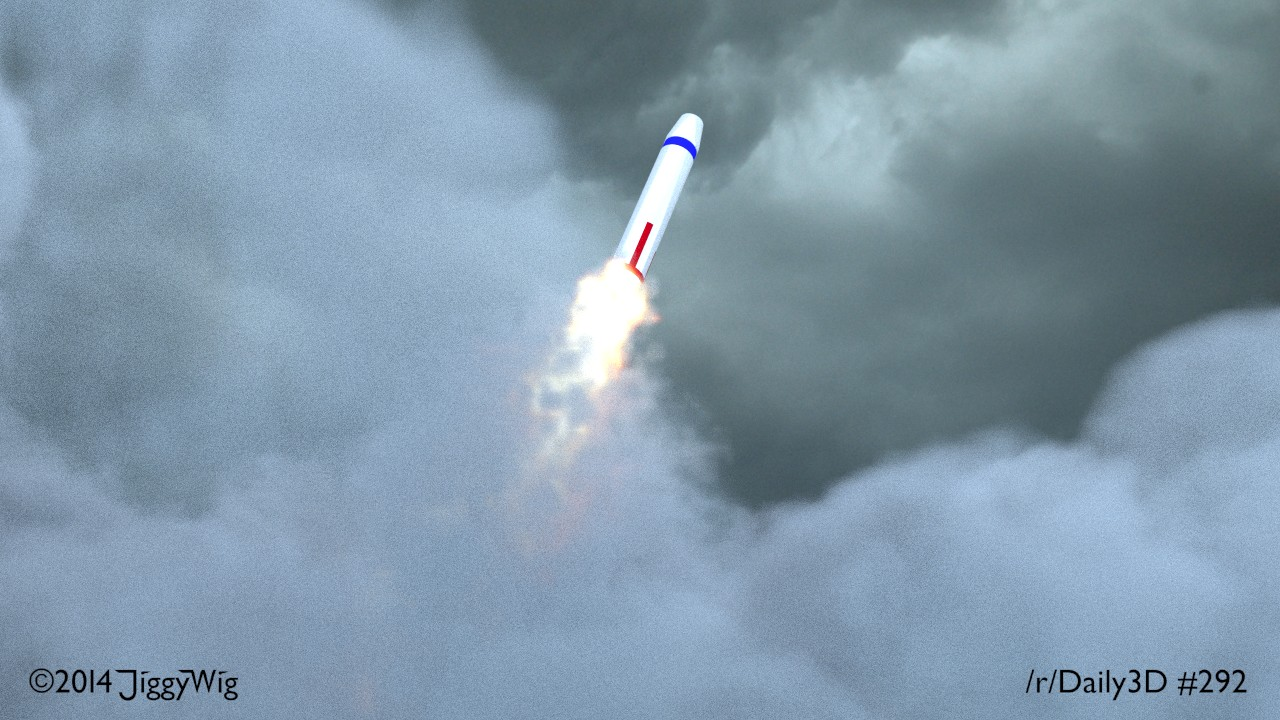 #292 Trident Nuclear Missile Launch
