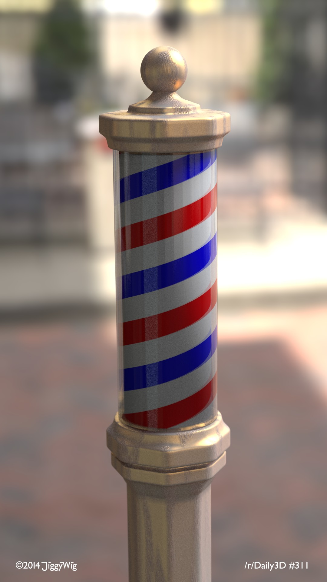 #311 Barbershop Pole
