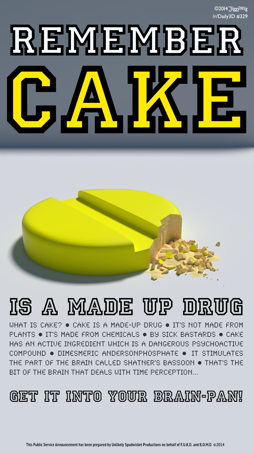 #329 Cake