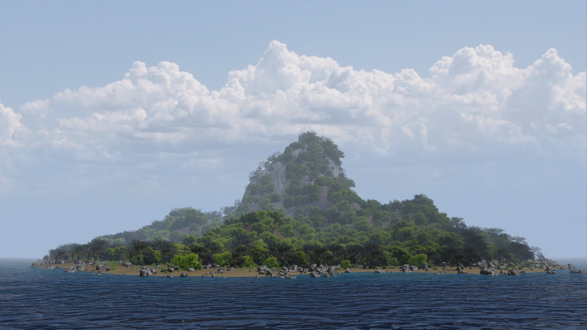 Creating an Island Environment