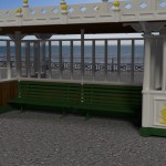 Brighton Seafront Shelter. My First Scene.