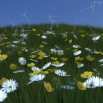 Meadow. Particle Systems.