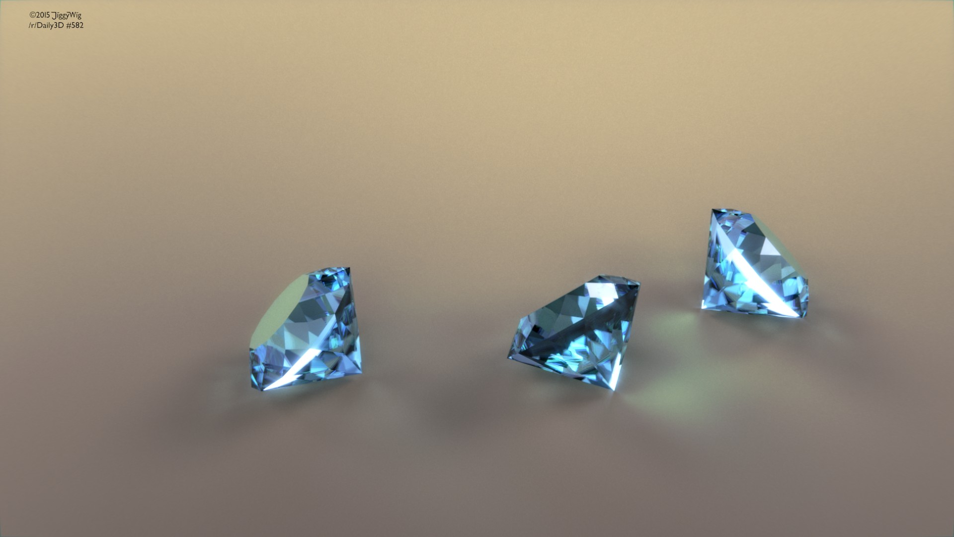 #582 Some Diamonds