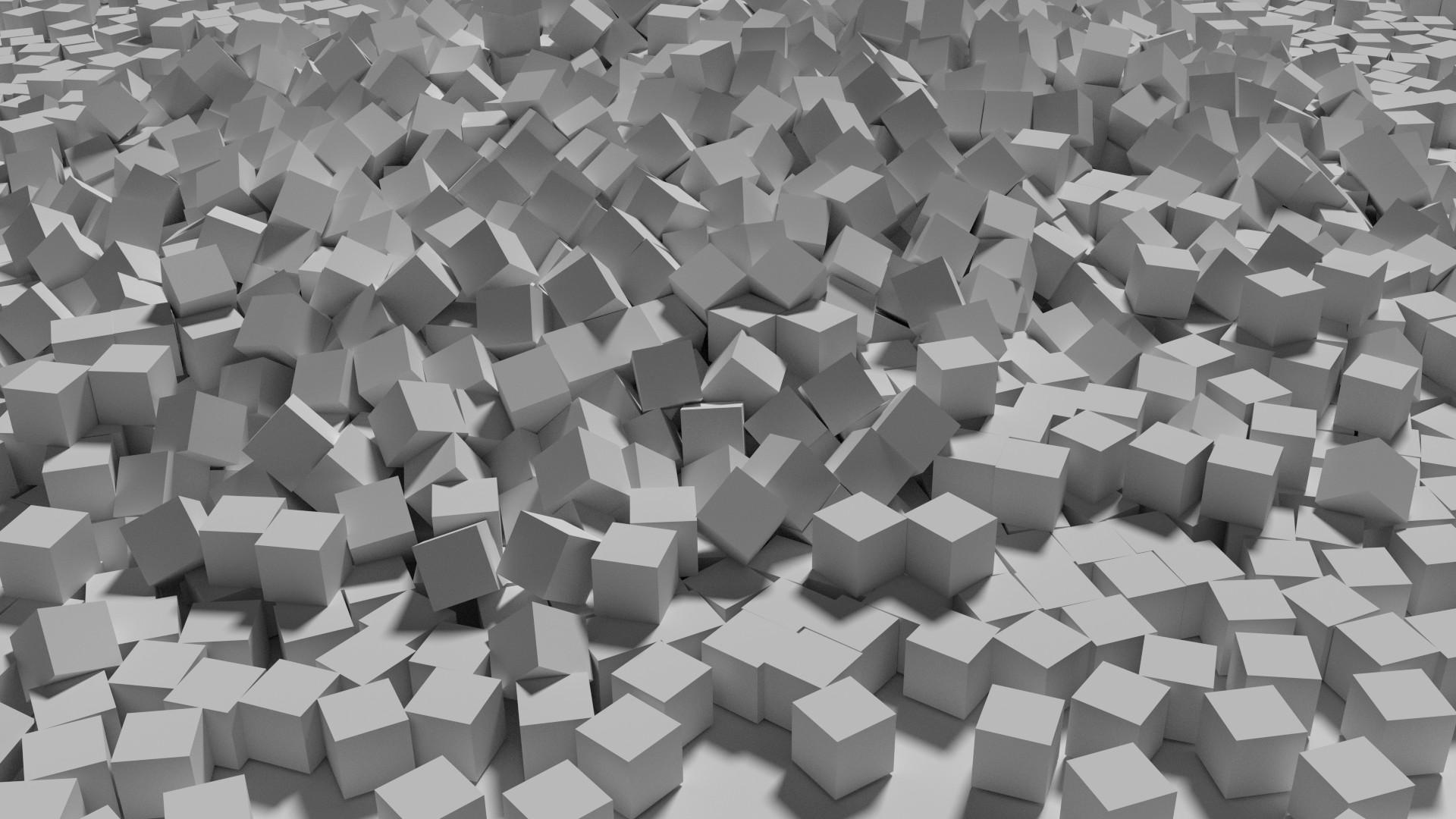 Many Cubes