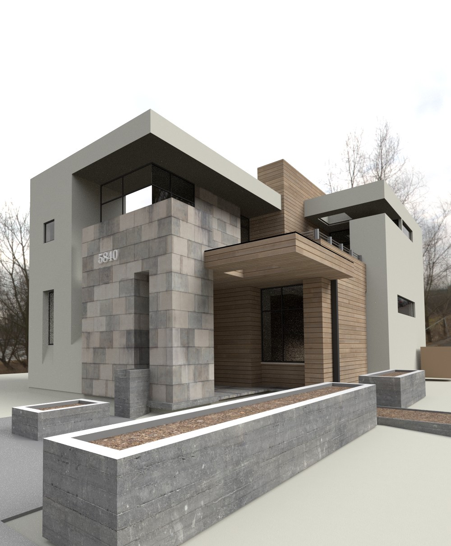 Architecture Academy Module 2. Homework Image 2. Work In Progress.
